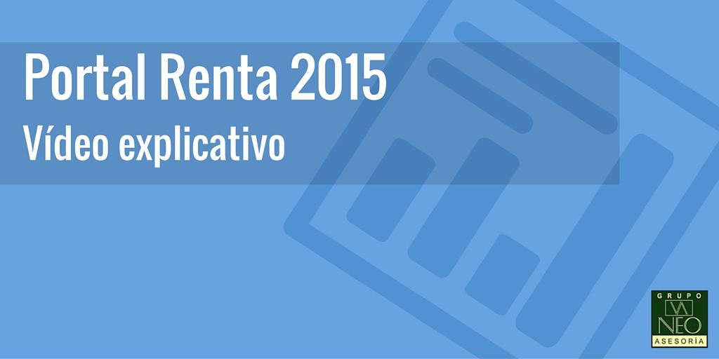 Vídeo explicativo del Portal Renta 2015