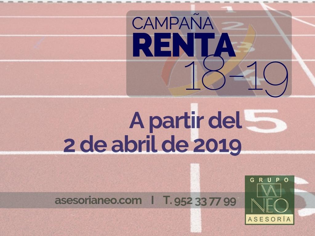 campaña_renta_2018_2019_asesoria_neo_malaga