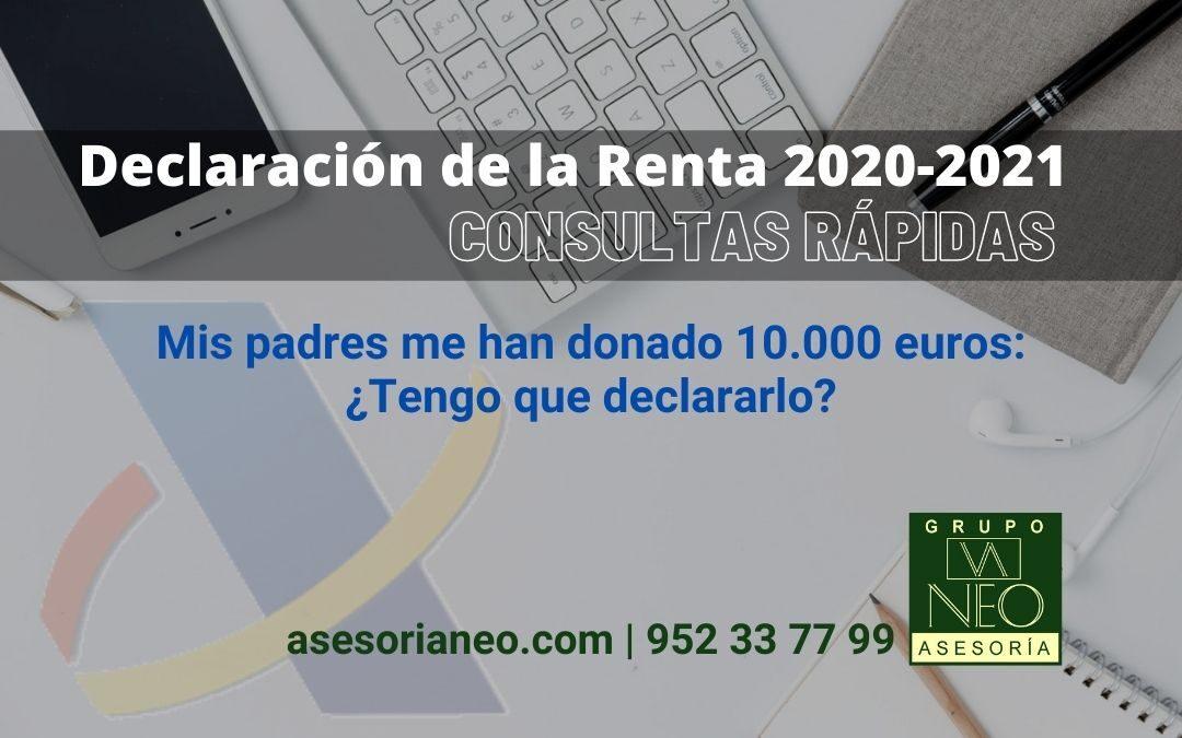 renta-2020-2021-donacion-dinero-padres-a-hijos