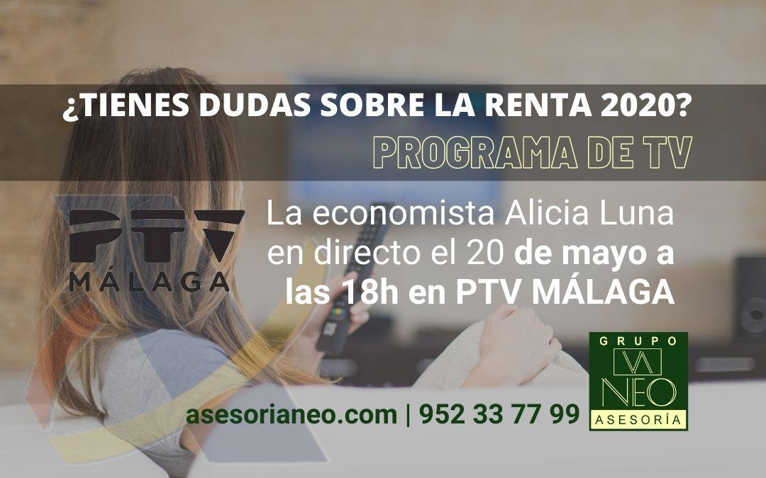 Tienes dudas sobre la Declaración de la Renta 2020-2021? Programa de TV